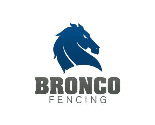 Bronco Fence Logo