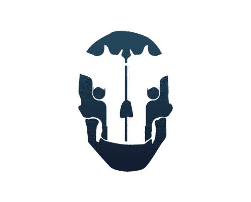 FPS Arcade Skull Logo