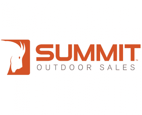 Summit Outdoor Sales Mountain Goat Logo