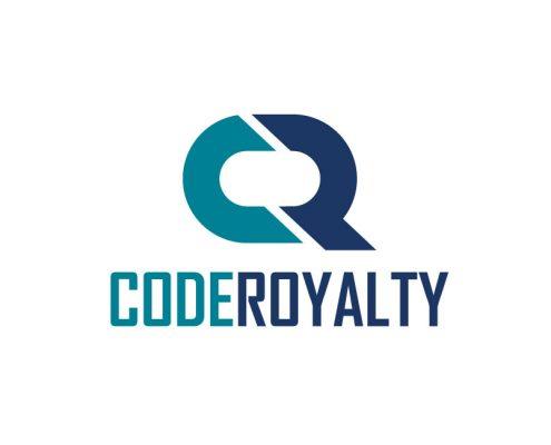 Code Royalty Software Logo Design