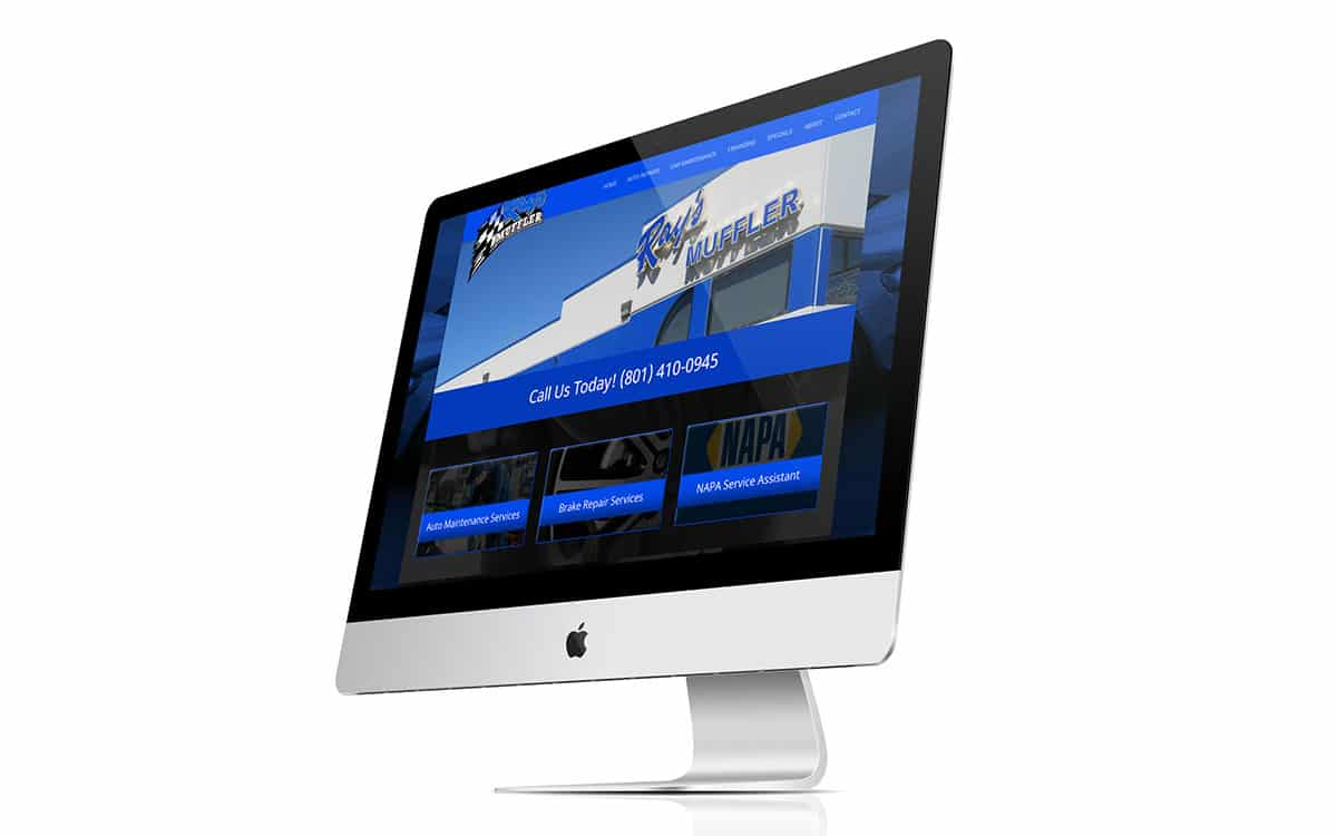 Rays Muffler iMac