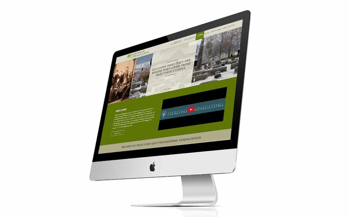 Heritage Consulting iMac