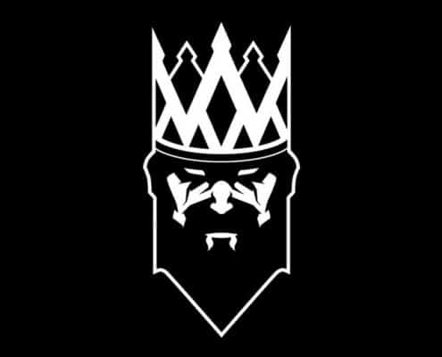 King royalty logo for Artistic Fit.
