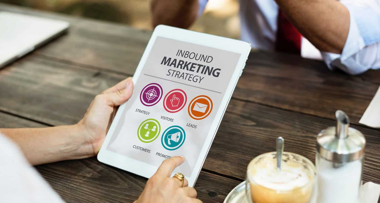 Online Digital Marketing on iPad
